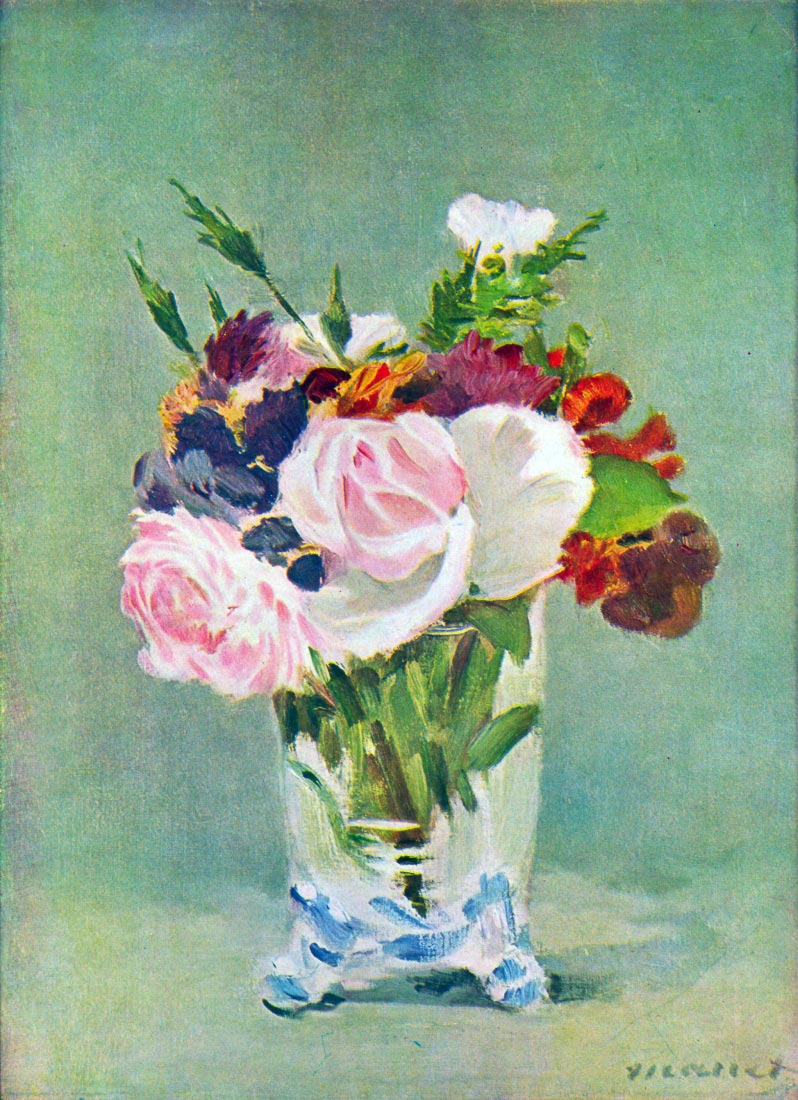 Still Life with Flowers [2] - Manet